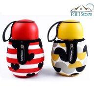 Bình thủy tinh Cute Bottle Series 390ml Lock&lock LLG657