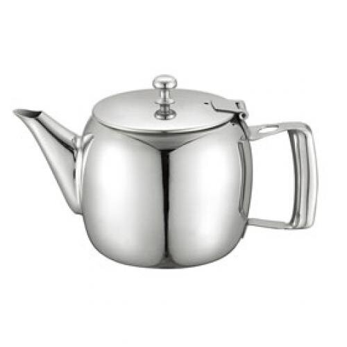 Bình trà cafe inox Kinhoo bóng gương có tay cầm rỗng 131012T