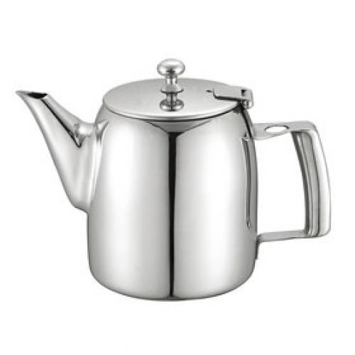 Bình trà cafe inox Kinhoo bóng gương có tay cầm rỗng 131012C