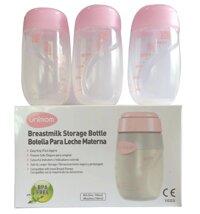 Bình trữ sữa Unimom UM880045 - bộ 3 bình