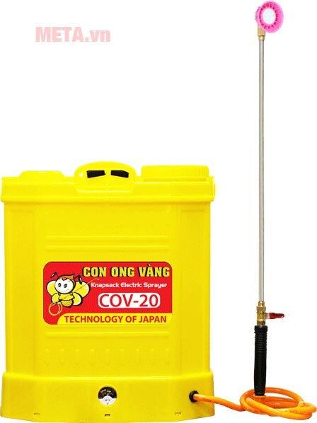 Bình xịt điện con ong vàng COV20