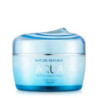 Kem dưỡng ẩm cho da hỗn hợp Nature Republic Super Aqua Max Fresh Watery Cream 80ml