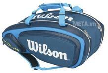 Bao vợt Tennis Wilson TOUR V 15 PACK BL WRZ843615