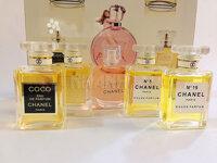 Bộ 05 chai nước hoa Chanel