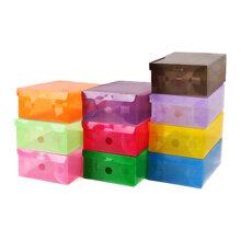Bộ 10 hộp đựng giày trong suốt siêu bền usa store