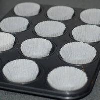 Bộ 100 khuôn giấy bánh Muffin UBL KC0331