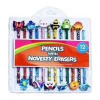 Bộ 12 bút chì có đầu tẩy ngộ nghĩnh UBL SE0507