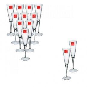 Bộ 12 ly rượu Ypsilon Flute - 100 ml x 12