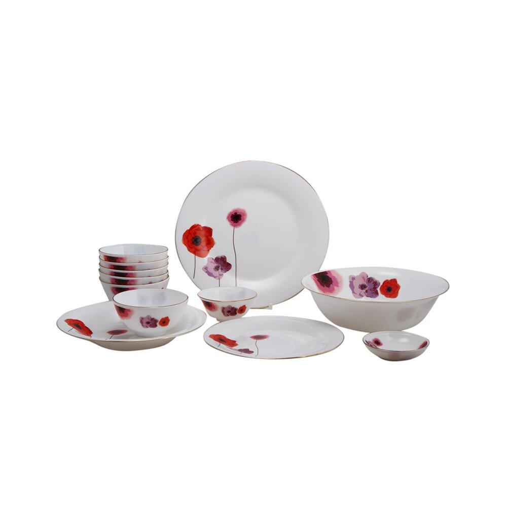 Bộ 12 món đồ dùng bàn ăn thủy tinh ngọc Vitriares 805-12T