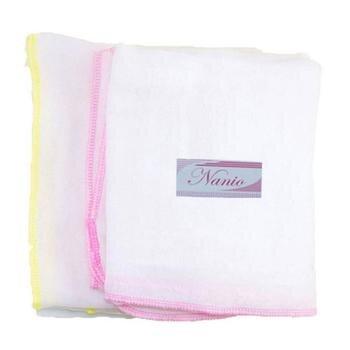 Bộ 2 bịch khăn tắm gạc 2 lớp Nanio A0036 - 70 x 75 cm
