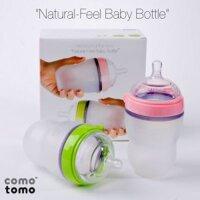 Bộ 2 bình sữa Comotomo siêu mềm cho bé 250ML