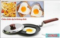 Bộ 2 chảo chiên trứng hình trái tim