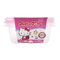 Bộ 2 Hộp Nhựa Hello Kitty Lock&Lock LKT809 - 610Ml