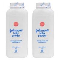 Bộ 2 hộp phấn thơm em bé Johnson & Johnson - 200g