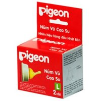 Bộ 2 núm ti cao su Pigeon NV22003 - Size L