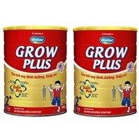 Bộ 2 sữa bột Vinamilk Dielac Grow Plus 2+ - 900g (dành cho trẻ từ 2 - 10 tuổi)