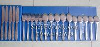 Bộ 20 chiếc thìa dĩa dao inox Mobifone