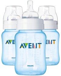 Bộ 3 bình sữa Philips Avent PP BPA Free 260ml