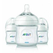 Bộ 3 bình sữa Philips Avent Natural - 125ml