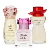 Bộ 3 Chai Nước Hoa Charrier Parfums Romance de France