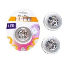 Bộ 3 đèn LED dán tường USA Store Stick & Click