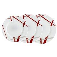 Bộ 3 đĩa thủy tinh Luminarc Couture H343536