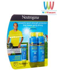 Bộ 3 kem chống nắng Neutrogena Sport