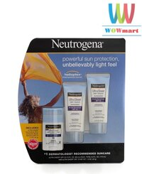 Bộ 3 kem chống nắng Neutrogena Ultra Sheer Dry Touch Sunscreen Broad Spectrum