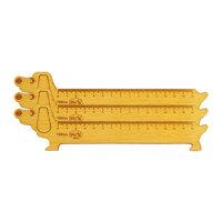 Bộ 3 thước gỗ học sinh Nhatvywood 150mm (Hình chó)