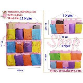 Bộ 3 túi treo đa năng Colour Block GD035