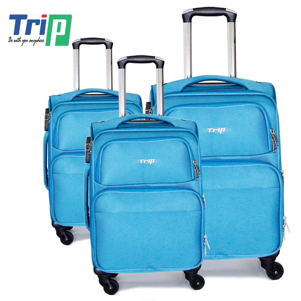Bộ 3 Vali vải TRIP P036