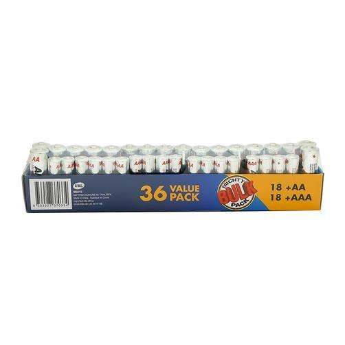 Bộ 36 pin Alkaline Aa + Aaa 36 Uncle Bills IB0215