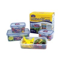 Bộ 4 hộp đựng thực phẩm Lock&Lock HPL817SC04