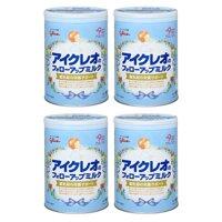 Bộ 4 sữa bột Glico Icreo số 9 - 820g