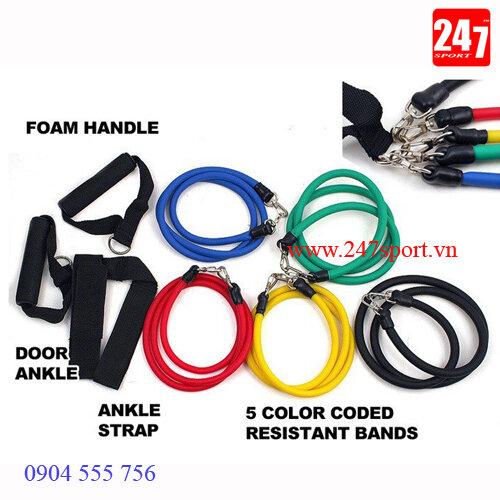 Bộ 5 dây đàn hồi Resistant Band
