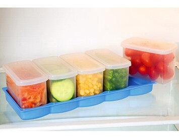 Bộ 5 hộp đựng thực phẩm để trong tủ lạnh Tashuan TS-3179