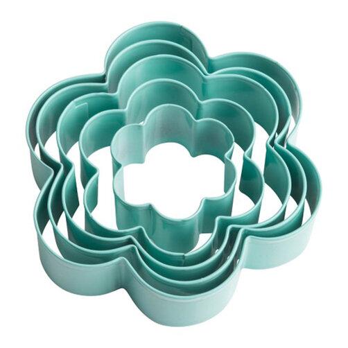 Bộ 5 khuôn định hình cookie hình hoa Trudeau 09913062