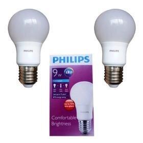 Bộ 6 Bóng đèn Led Philips Ledbulb 9W E27 6500K 230V A60