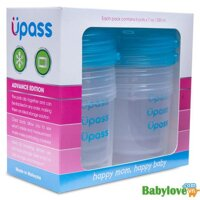 Bộ 6 hộp trữ sữa mẹ thức ăn sữa bột cho bé UPASS Malaysia UP0001F