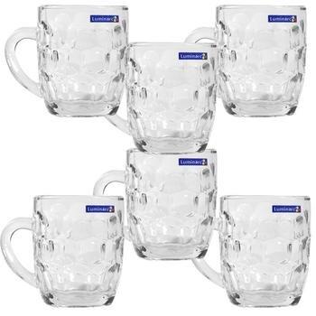Bộ 6 ly bia thủy tinh Luminarc Britannia 15706 - 285 ml