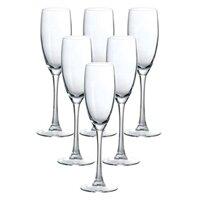 Bộ 6 ly rượu champagne Senso Arcoroc G3809 160ml