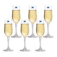 Bộ 6 Ly Rượu Ocean Lexington Flute Champagne 1019F06 (185ml)