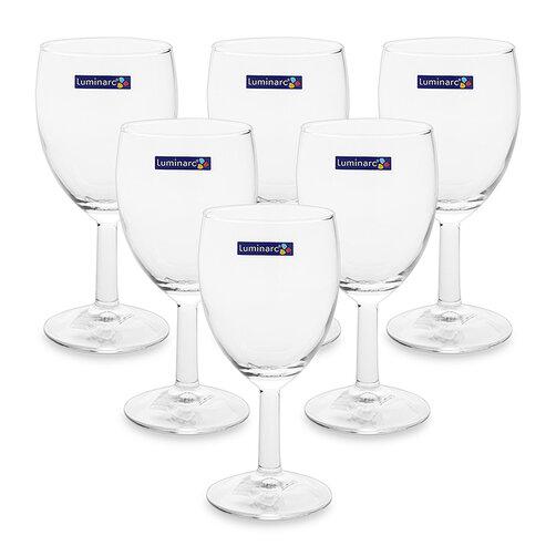 Bộ 6 ly rượu thủy tinh Luminarc Savoie 11907 250ml