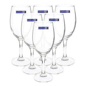 Bộ 6 ly rượu vang Luminarc Raindrop H5702 - 350ml