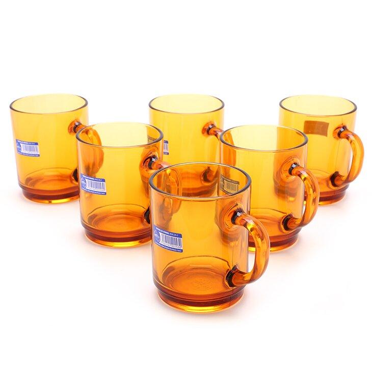 Bộ 6 ly thủy tinh Duralex Amber 4020DR06A1111 260ml