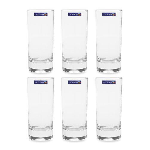 Bộ 6 ly thủy tinh Luminarc D0601 220ml