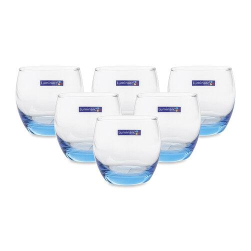 Bộ 6 ly thủy tinh thấp Luminarc J1584 320ml