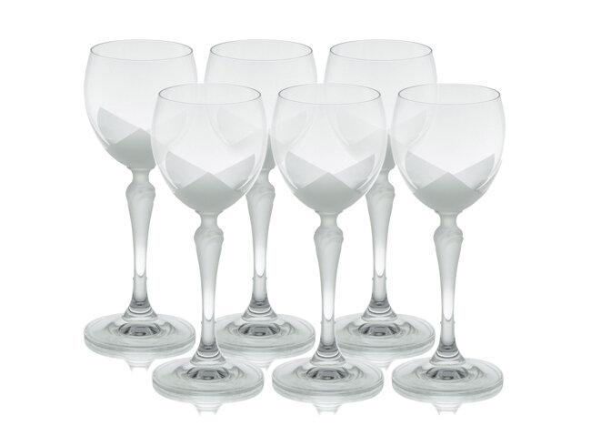Bộ 6 ly thủy tinh uống rượu vang Bohemia 2227/00005/6005/150