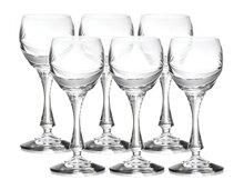 Bộ 6 ly thủy tinh uống rượu vang Bohemia 910/4S003/17002/065