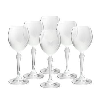 Bộ 6 ly thủy tinh uống rượu vang Bohemia 2227/00005/6005/250
